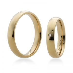 Bartijewels Trauringe Gold massiv MY-0046