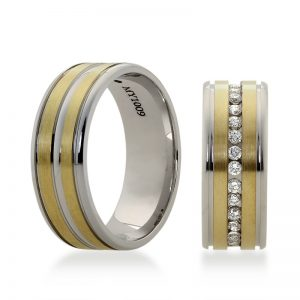 Bartijewels Trauringe Gold massiv MY-1009
