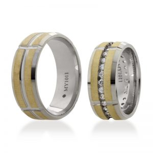 Bartijewels Trauringe Gold massiv MY-1011