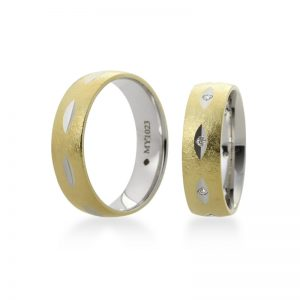 Bartijewels Trauringe Gold massiv MY-1023