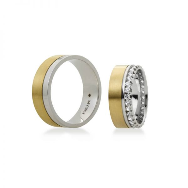 Bartijewels Trauringe Gold massiv MY-2038