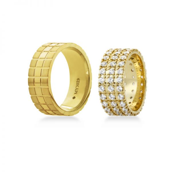Bartijewels Trauringe Gold massiv MY-3023