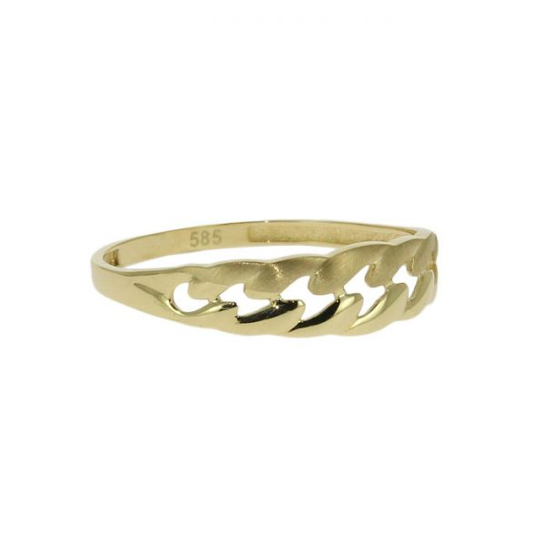 damenring, goldring,